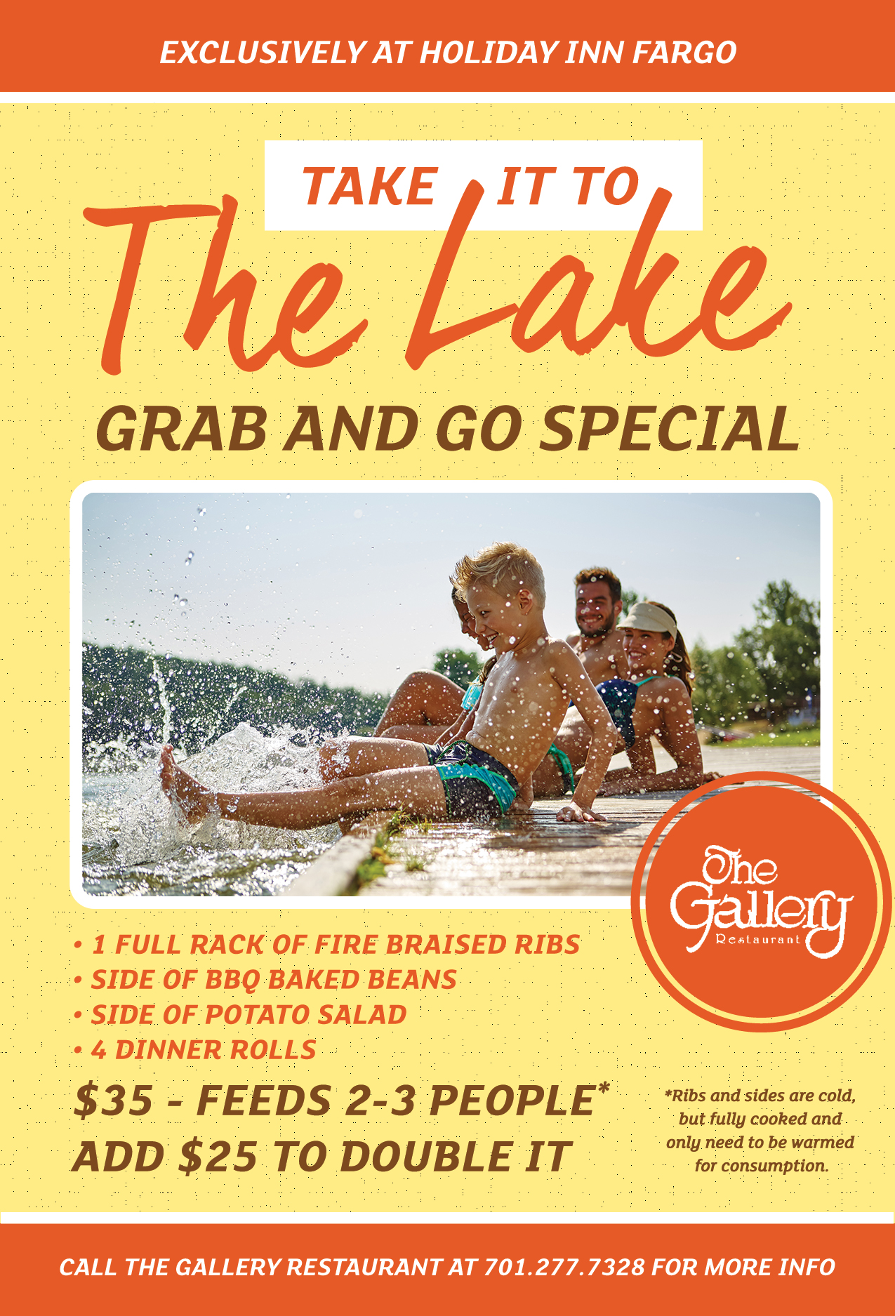 Take It To The Lake Grab and Go Special